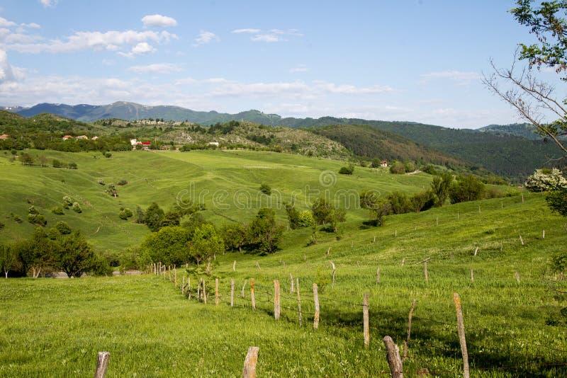 Wzgórze krajobraz zdjęcia royalty free