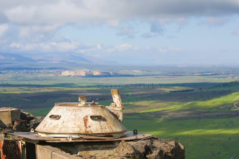 Wzg?rze Golan, Izrael obrazy stock