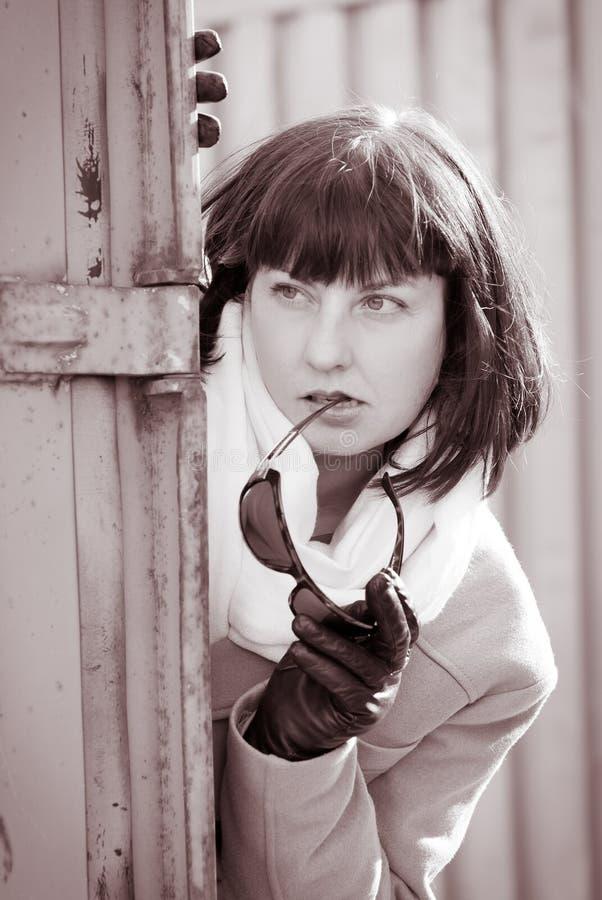 wzierna kobieta zdjęcie stock