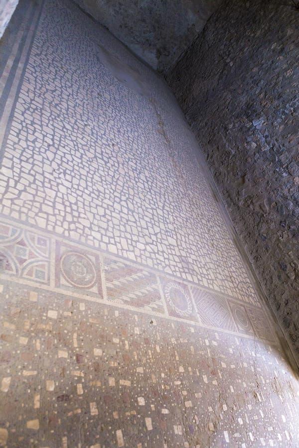 Wznawiający pokój z dekoracyjną mozaiką od domu Ceii zdjęcie royalty free