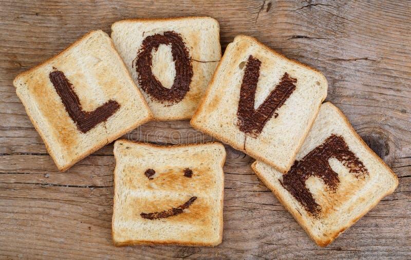 Wznosząca toast miłość fotografia stock
