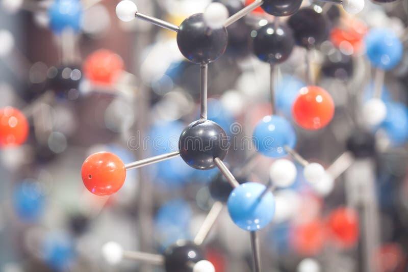 wzorcowa molekuła fotografia royalty free