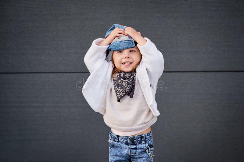 Wzorcowy dziecko Hip-hop dziecko baseball wpr zdjęcia stock