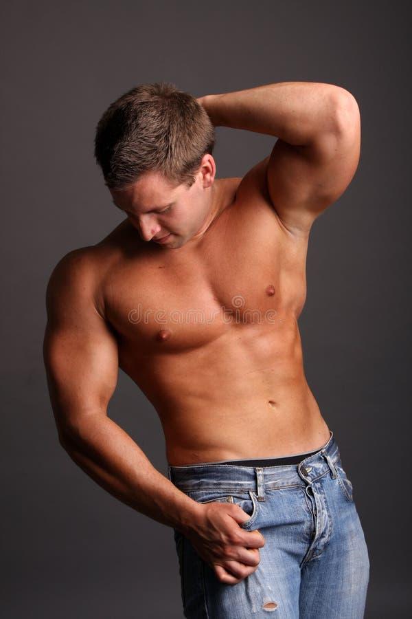 wzorcowy mięśniowy zdjęcia stock