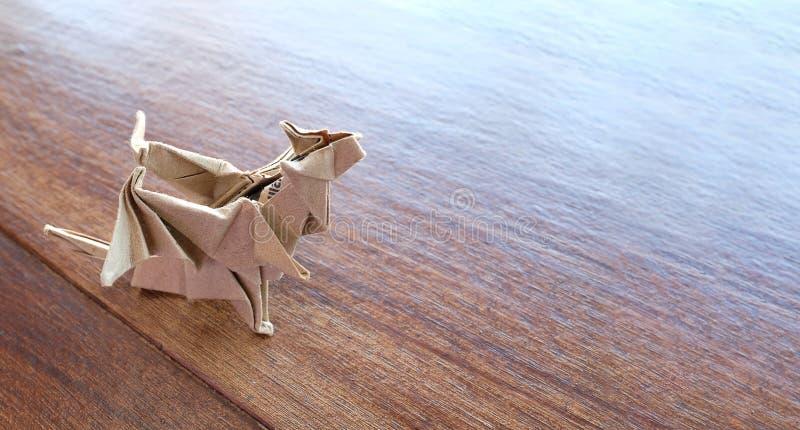 wzorcowy origami smok zdjęcie royalty free