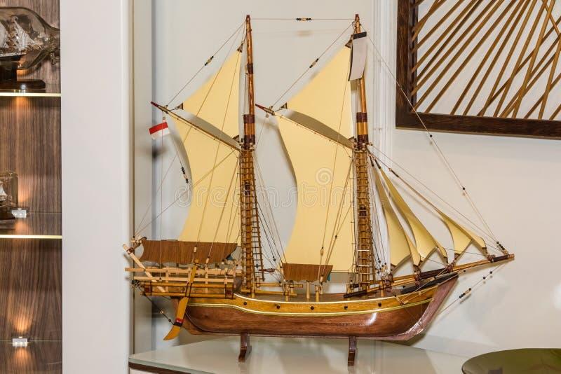 wzorcowy statek drewniany obrazy royalty free