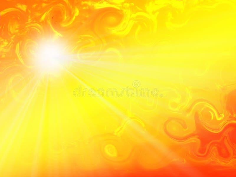 wzoru słońce ilustracji
