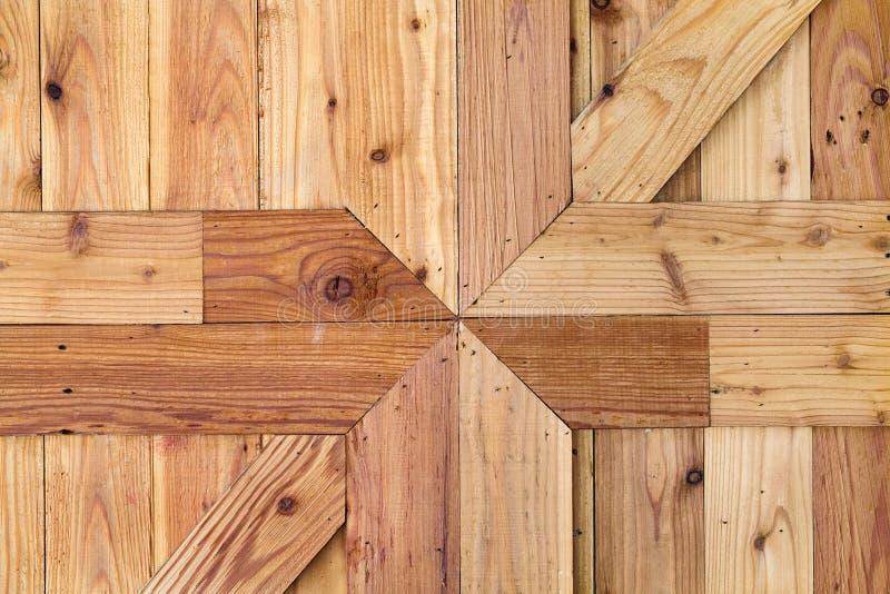 Wzory i tekstury drewniane ściany zdjęcie stock