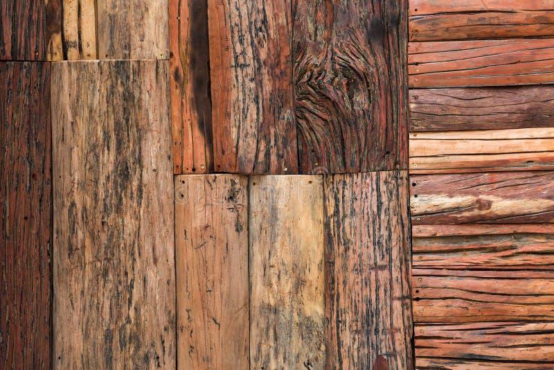 Wzory i tekstury drewniane ściany fotografia royalty free