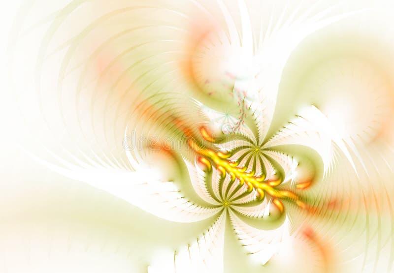Wzory na bielu ilustracja wektor