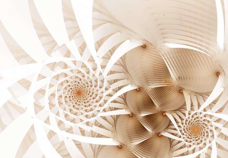 Wzory na bielu ilustracji