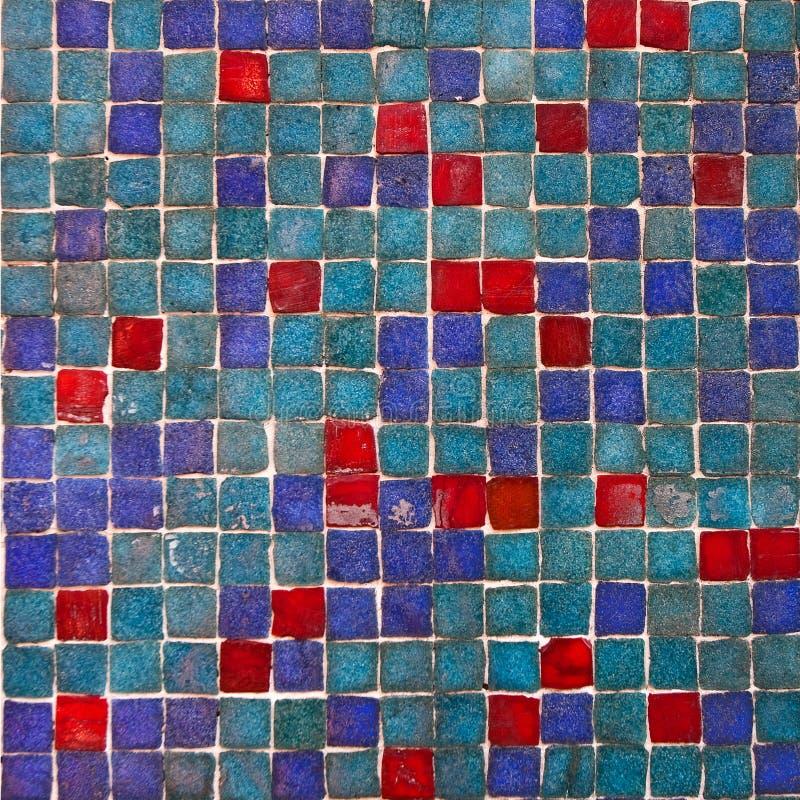 Wzorzyste barwione płytki na domu symbolu Lisbon Abstrakt, ornament, Europejski autentyczny styl obrazy royalty free