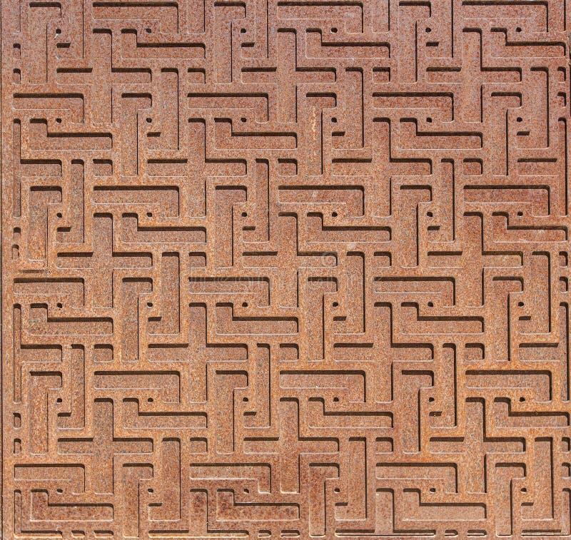 Wzorzysty metalu abstrakta tło royalty ilustracja