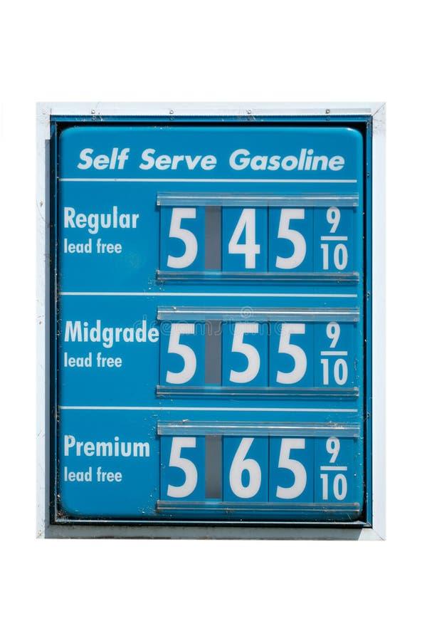 wzrost ceny gazu fotografia stock