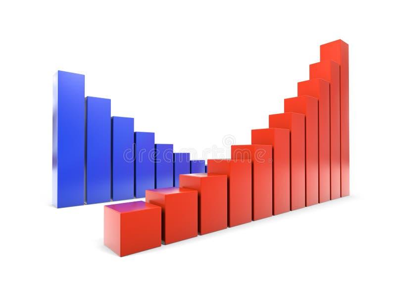 wzrost wartości ilustracja wektor