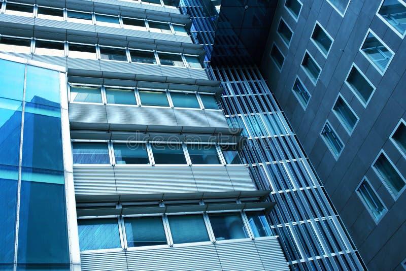 Wzrosta szklany wysoki budynek zdjęcia stock