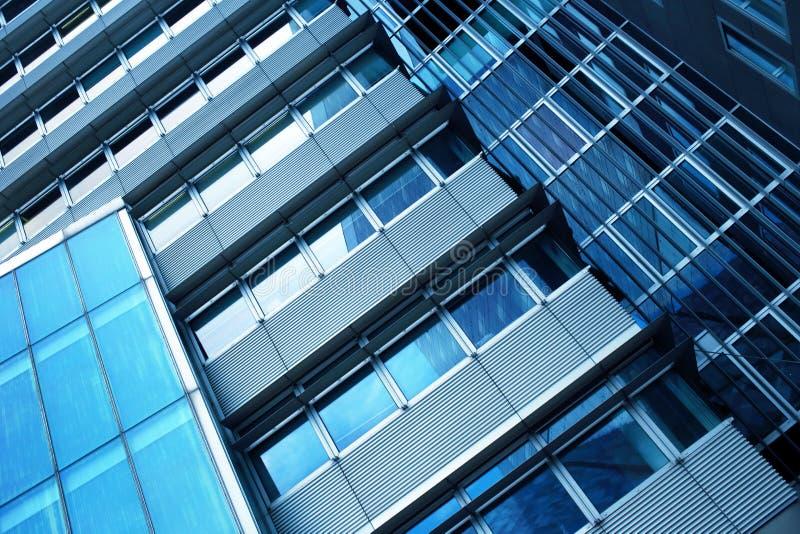 Wzrosta szklany wysoki budynek fotografia stock