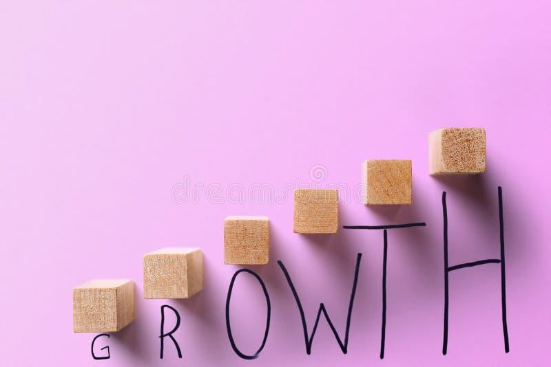 Wzrostowy biznesowy pojęcie obrazy royalty free