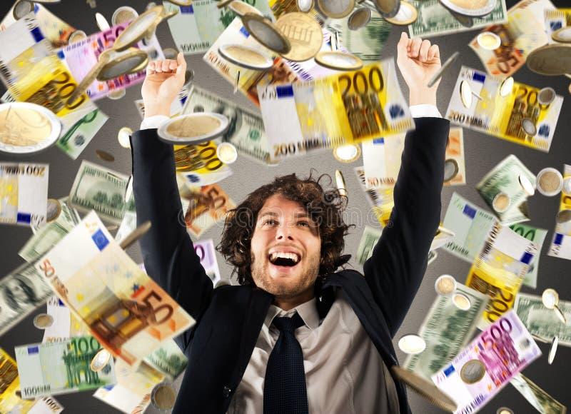 Wzrostowy wykładniczy zysk zdjęcie royalty free