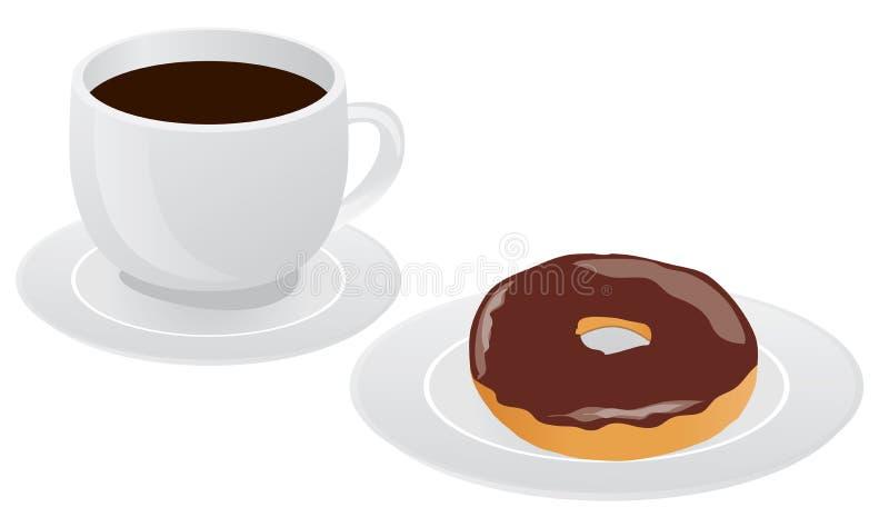 Xícara de café ilustração royalty free