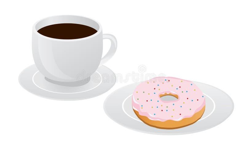 Xícara de café ilustração do vetor