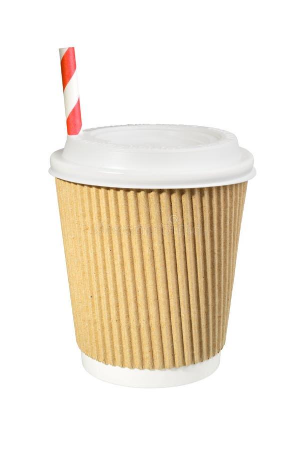 Download Xícara De Café De Papel A Ir Imagem de Stock - Imagem de tampa, papel: 80101477