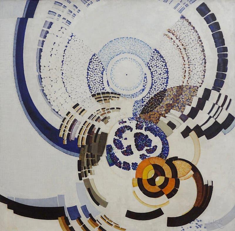 """""""autour D'un Point"""", Frantisek Kupka, 1920-1925/1930. Centre Pompidou, Paris Free Public Domain Cc0 Image"""