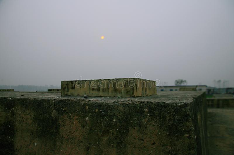 Great ruins of Luoyang. The & x22;big site& x22; mainly includes the historical and cultural information about politics, religion, military, science and royalty free stock photos