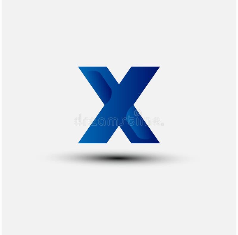 X Brief Logo Icon Design vector illustratie
