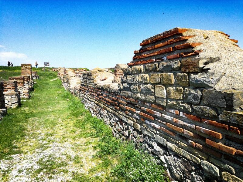 & x22; Cabile& x22; fästning i Bulgarien arkivbild