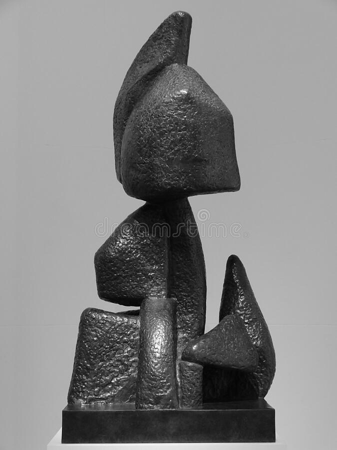 """Composition"", Otto Freundlich, 1933. Musée d'Art moderne de la ville de Paris stock photography"