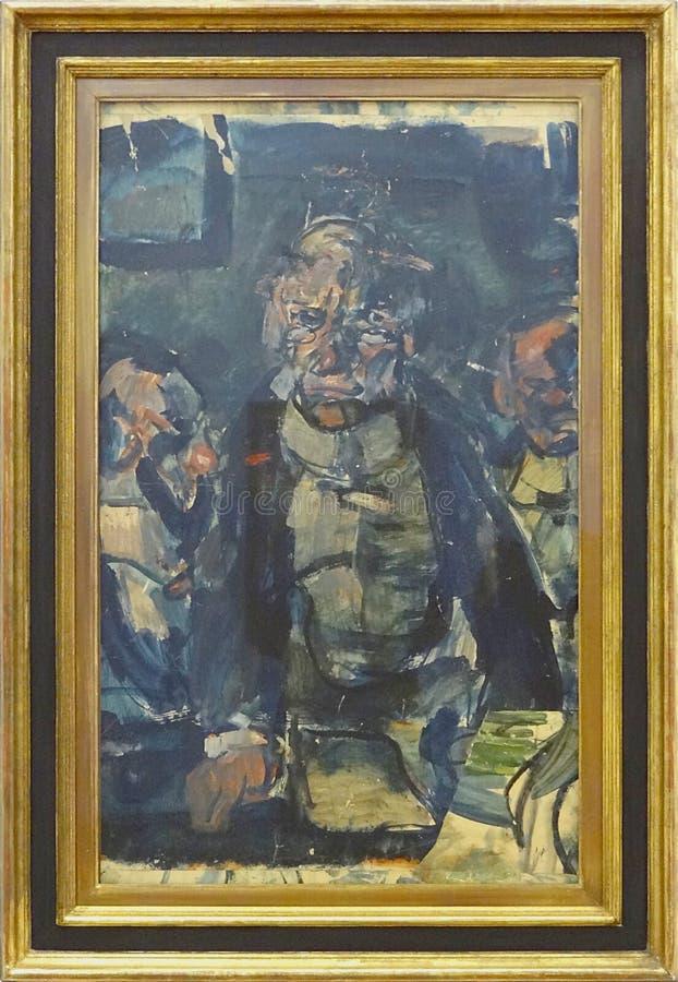 """""""conférencier"""", Georges Rouault, Vers 1908-1910. Centre Pompidou, Paris. Free Public Domain Cc0 Image"""