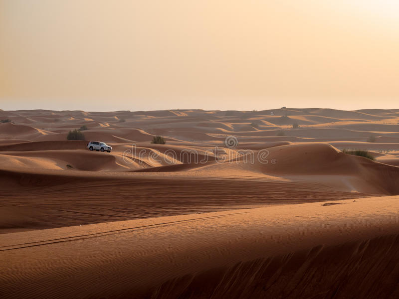 4x4 Desert Rally royalty free stock images