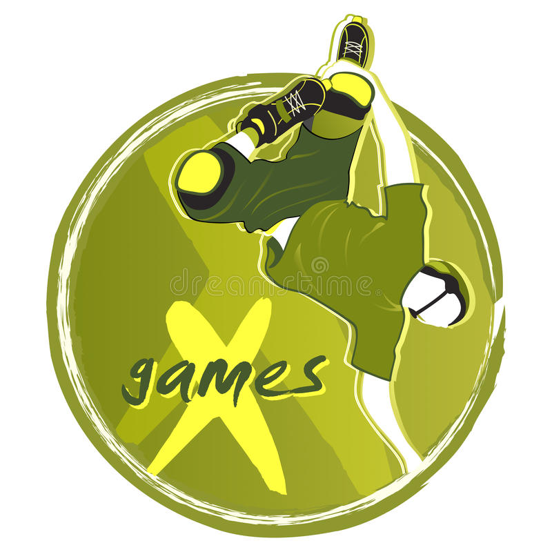 X-games Symbol Royalty Free Stock Images