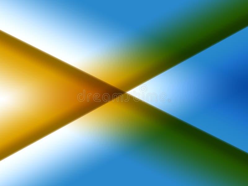 X horizontal ilustração royalty free