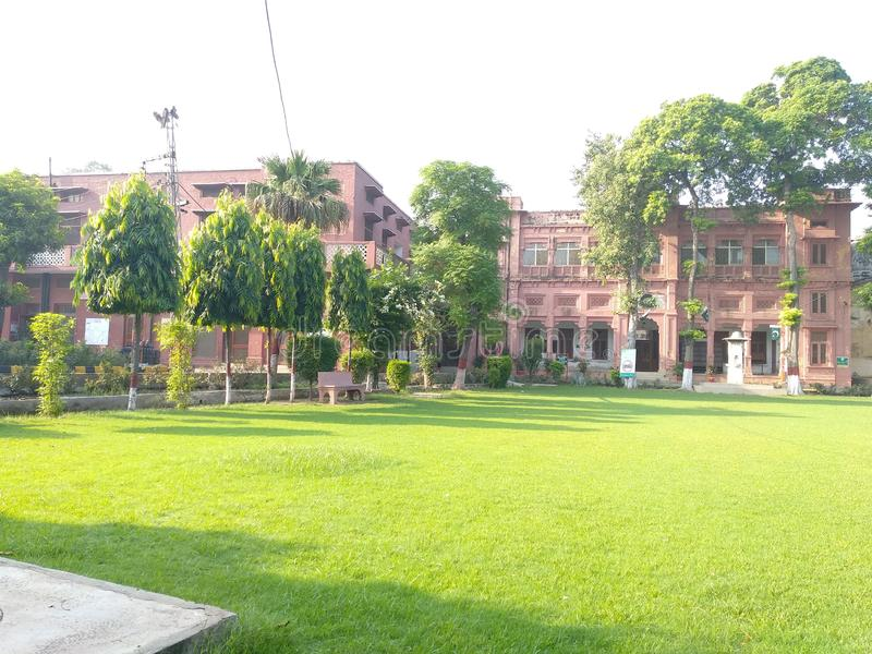 The & x27;Islamia College, Civil Lines& x27; in Lahore. The & x27;Islamia College, Civil Lines& x27; in Lahore in Pakistan was founded in 1947 on the premises stock image