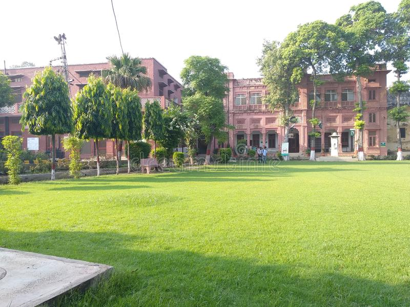 The & x27;Islamia College, Civil Lines& x27; in Lahore. The & x27;Islamia College, Civil Lines& x27; in Lahore in Pakistan was founded in 1947 on the premises royalty free stock photography