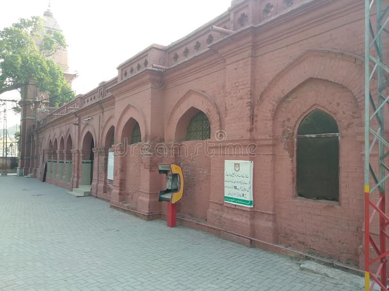 The & x27;Islamia College, Civil Lines& x27; in Lahore. The & x27;Islamia College, Civil Lines& x27; in Lahore in Pakistan was founded in 1947 on the premises stock photography