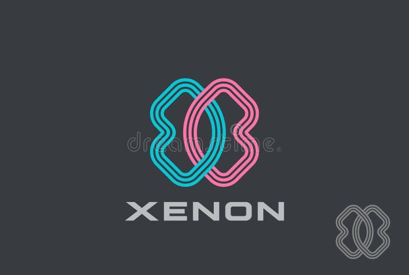 X letter Logo design template icon. X letter Logo design template vector illustration