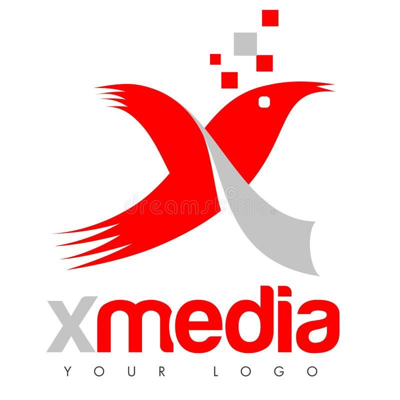 X logo illustration libre de droits