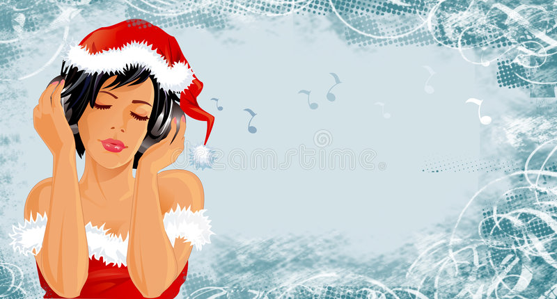 X-mas banner royalty free stock photo