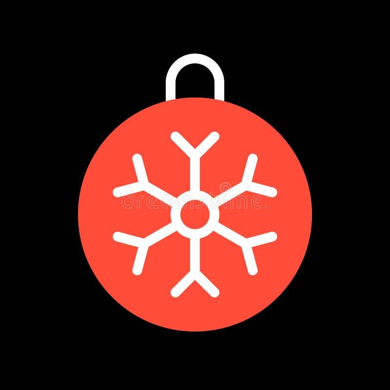 X mas ornamentuje dekorację, Wesoło bożych narodzeń ikony wypełniający set ilustracja wektor