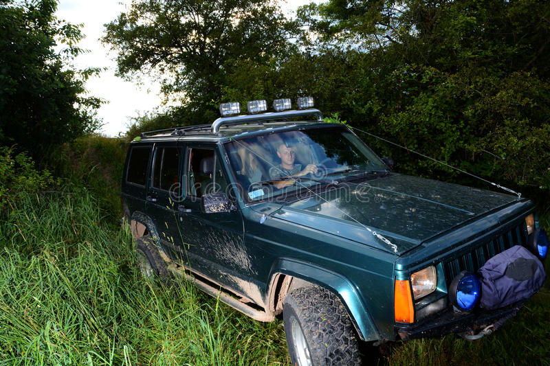 4x4 offroad truck royalty free stock photography
