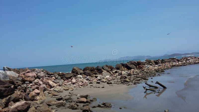 & x22 Playa Linda& x22  παραλία στοκ εικόνες