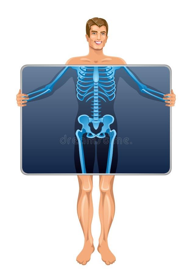 X-ray stock illustration