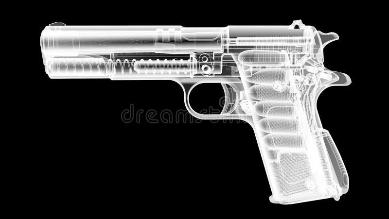 X Ray Gun ilustração do vetor
