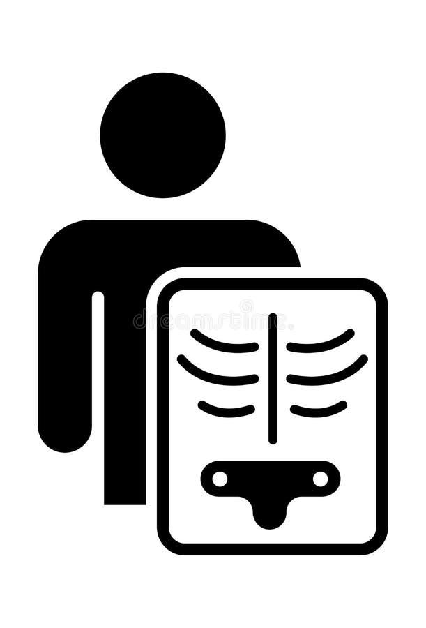 X-Ray Icon Vector stock illustration