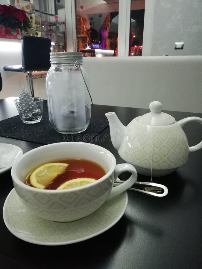 It&-x27; s herbaty czas fotografia stock