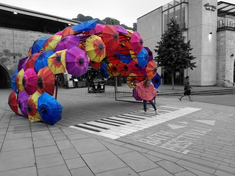 It& x27; s pada w kolorach zdjęcie royalty free