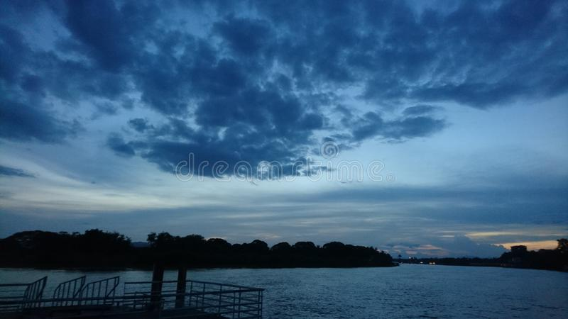 This& x27;s sky to look that beautiful on evening. Thiss, blue, beauty, blackground, shadow, light, white, cloud stock images